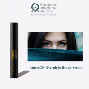 AnteAGE Overnight Brows Serum available at Osteopathic Integrative Medicine